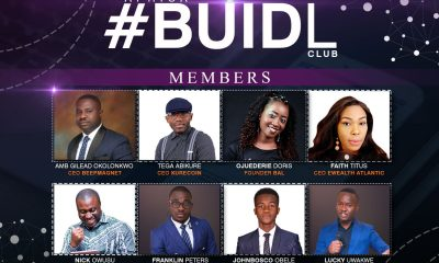 A cross sessions of Buidl Club Members