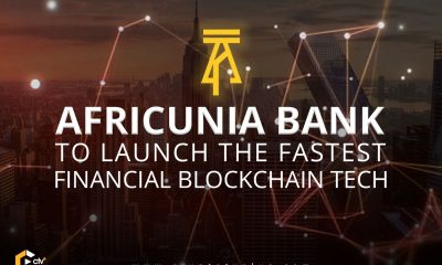 AFRICUNIA Bank will be100% fully Digital Crowdfunded Open Bankbased on the Blockchain Technology 4.0and that thisBlockchain Digital Bank