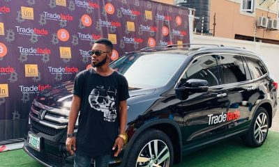 Samuel Perry, popularly know as Broda Shaggi has just been named the official Brand ambassador for Blockchain and Fintech Company based in Nigeria- Tradefada.