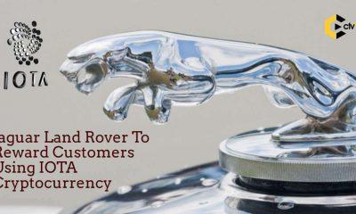 Jaguar Land Rover To Reward Customers Using IOTA Cryptocurrency