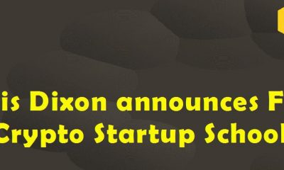 Chris Dixon Announces Free Crypto Startup school for founders