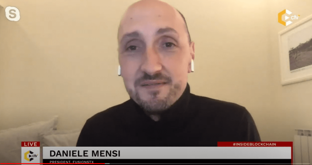 """""""Crypto is not the future of investing, it's the present""""- Daniele Mensi"""
