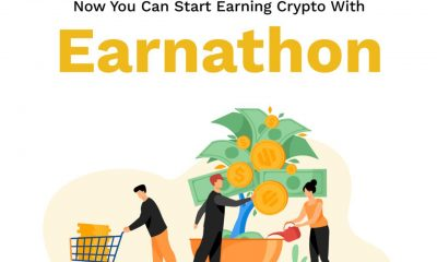 how earnathon works, signup, watch videos, take quizzes and earn tokens