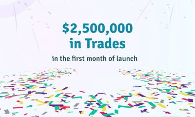 Obiex Finance, a digital asset exchange and financial technology platform celebrates achieving $2.5M in trades one month after it launched.