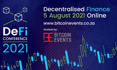 Bitcoin Events is excited to announce its 2nd annual DeFi Conference which will take place online on 5 August 2021.
