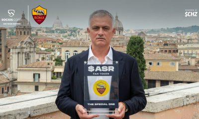 Jose Mourinho becomes the first manager to be a Fan Token
