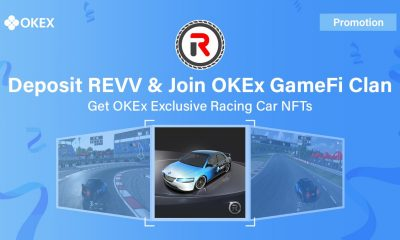 OKEx Lists REVV & to Give Away Exclusive Racing Car NFTs