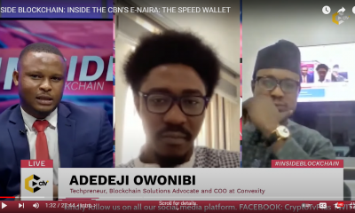 inside the CBN's e-naira; the speed wallet